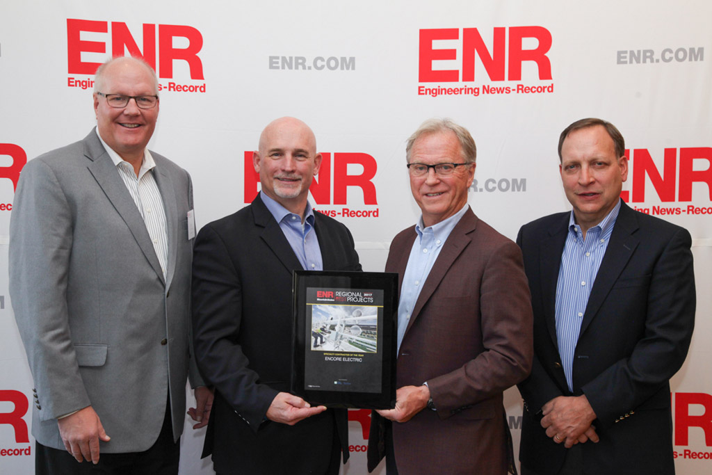 Encore Electric Specialty Contractor of the Year