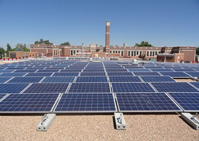 Denver Public Schools Photo Voltaic Installation