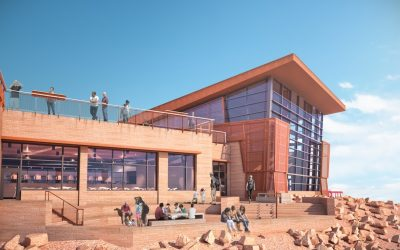 Pikes Peak Summit House Breaks Ground