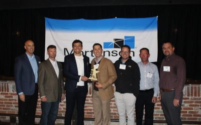 "Encore Electric Recognized by Mortenson Construction as ""Best Overall"" Contractor"
