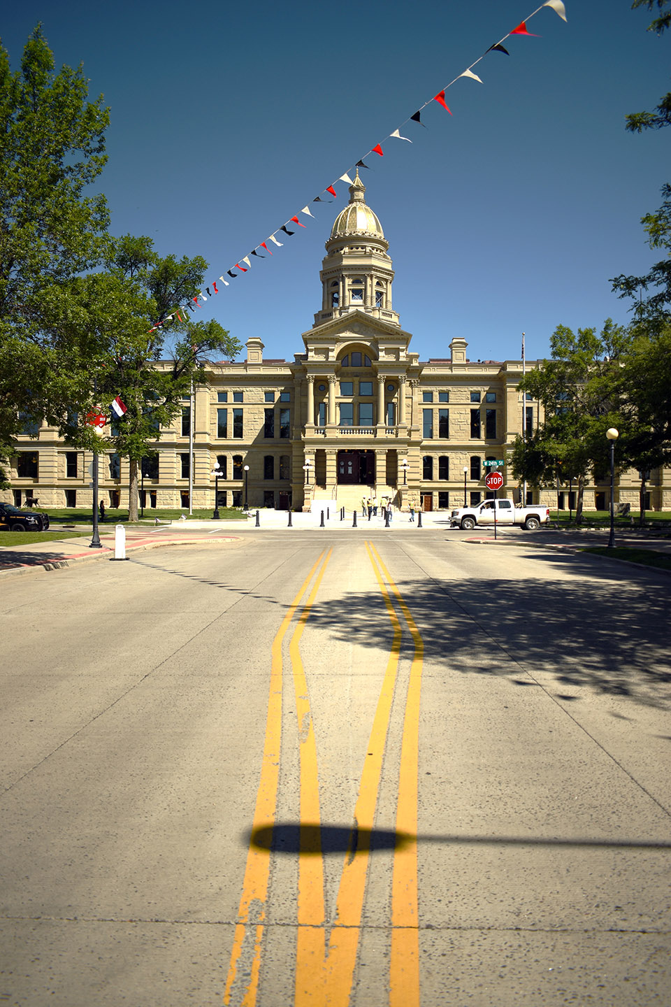 The Wyoming State Capitol is Modernizing with a Foot in the