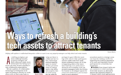 Technology Solutions Discusses Refreshing Building Technology Assets in Property Management Quarterly